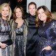 "Arianna Huffington, Jane Deery, Connie Anne Phillips à la soirée ""Glamour 2014 Women Of The Year Awards"" à New York, le 10 novembre 2014"