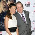 Hilary Swank, Tommy Lee Jones lors de l'avant-première du film The Homesman dans le cadre de l'AFI Fest le 11 novembre 2014 à Hollywood