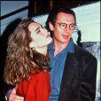 Brooke Shields et Liam Neeson en 1993.