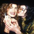 Michael Jackson et Brooke Shields à Los Angeles en 1993.