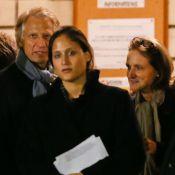 Dominique de Villepin avec son épouse et sa fille : Hommage à son père décédé