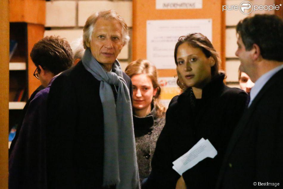 Dominique de Villepin et sa fille Victoire de Villepin ...