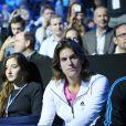 Amélie Mauresmo assiste impuissante à la déroute de son protégé Andy Murray, corrigé le 13 novembre 2014 au Masters de Londres par Roger Federer, 6-0 6-1 en 56 minutes.
