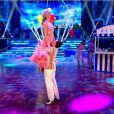 Judy Murray et son partenaire Anton du Beke lors de l'émission Stricly Come Dancing sur BBC, le 15 novembre 2014