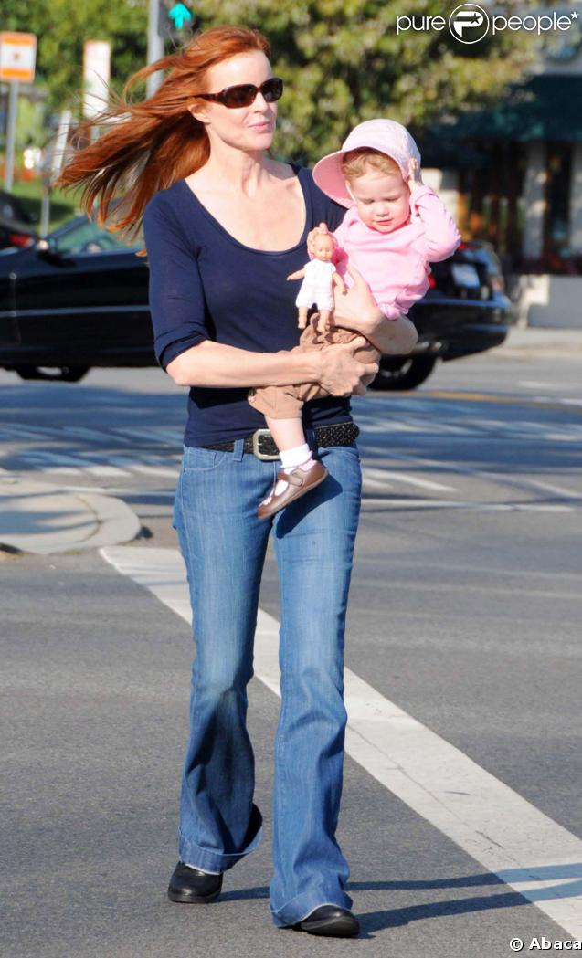 Marcia Cross et son adorable fille