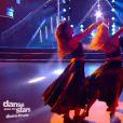 Brian Joubert et Katrina, dans Danse avec les stars 5 sur TF1, le samedi 22 novemre 2014.