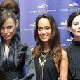 Melissa Mars, Karine Lima et Delphine Chanéac à la cérémonie de clôture du Festival du Cinéma et Musique de Film de La Baule le 22 novembre