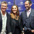 Philippe Caroit et Christian Vadim à la cérémonie de clôture du Festival du Cinéma et Musique de Film de La Baule le 22 novembre