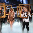 Taylor Swift lors des American Music Awards à Los Angeles, le 22 novembre 2014.