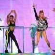 Fergie lors des American Music Awards à Los Angeles, le 22 novembre 2014.