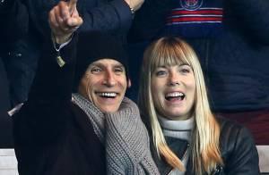 PSG-Ajax : Nagui et Mélanie Page, supporters amoureux devant la victoire du PSG