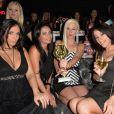 Kelly (Les Ch'tis/Les Anges 6 et actrice pornographique) et Nikita Bellucci - Soirée pour les 25 ans de Hot Vidéo au Titty Twister à Paris, le 27 novembre 2014.27/11/2014 - Paris