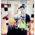 Katrina Patchett et Brian Joubert le 29 novembre 2014, jour de la finale de Danse avec les stars 5.