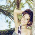 Miss Saint-Martin en maillot de bain à Punta Cana, pour la préparation à Miss France 2015