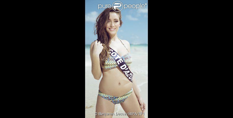 Miss Cote d'Azur en maillot de bain à Punta Cana, pour la préparation à Miss France 2015