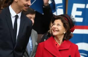 Silvia de Suède : Complice avec Zlatan Ibrahimovic au côté de Carl XVI Gustaf