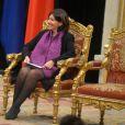 Anne Hidalgo - Visite d'état du Roi Carl XVI Gustaf à la mairie de Paris le 3 décembre 2014