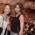 Exclusif - Nathalie Baye et sa fille Laura Smet au POPB de Bercy le 15 juin 2013.