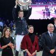 Charlotte Casiraghi - Dernier jour du 6e Gucci Paris Masters, dernière étape du Masters Grand Slam Indoor à Villepinte, le 7 décembre 2014.