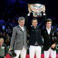 Martin Fuchs, lauréat du Gucci Grand Prix international - Dernier jour du 6e Gucci Paris Masters, dernière étape du Masters Grand Slam Indoor à Villepinte, le 7 décembre 2014.