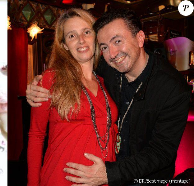 Décembre 2014 : La petite Elisa vient de naître. Ses parents Gérald Dahan et Claire, ici à Paris le 20 octobre, ne pourraient être plus heureux.
