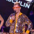 Michael Youn, alias Fatal Bazooka, et Elisa Tovati  sur la scène  des NRJ Music Awards 2014, à Cannes, le samedi 13 décembre 2014 sur TF1.