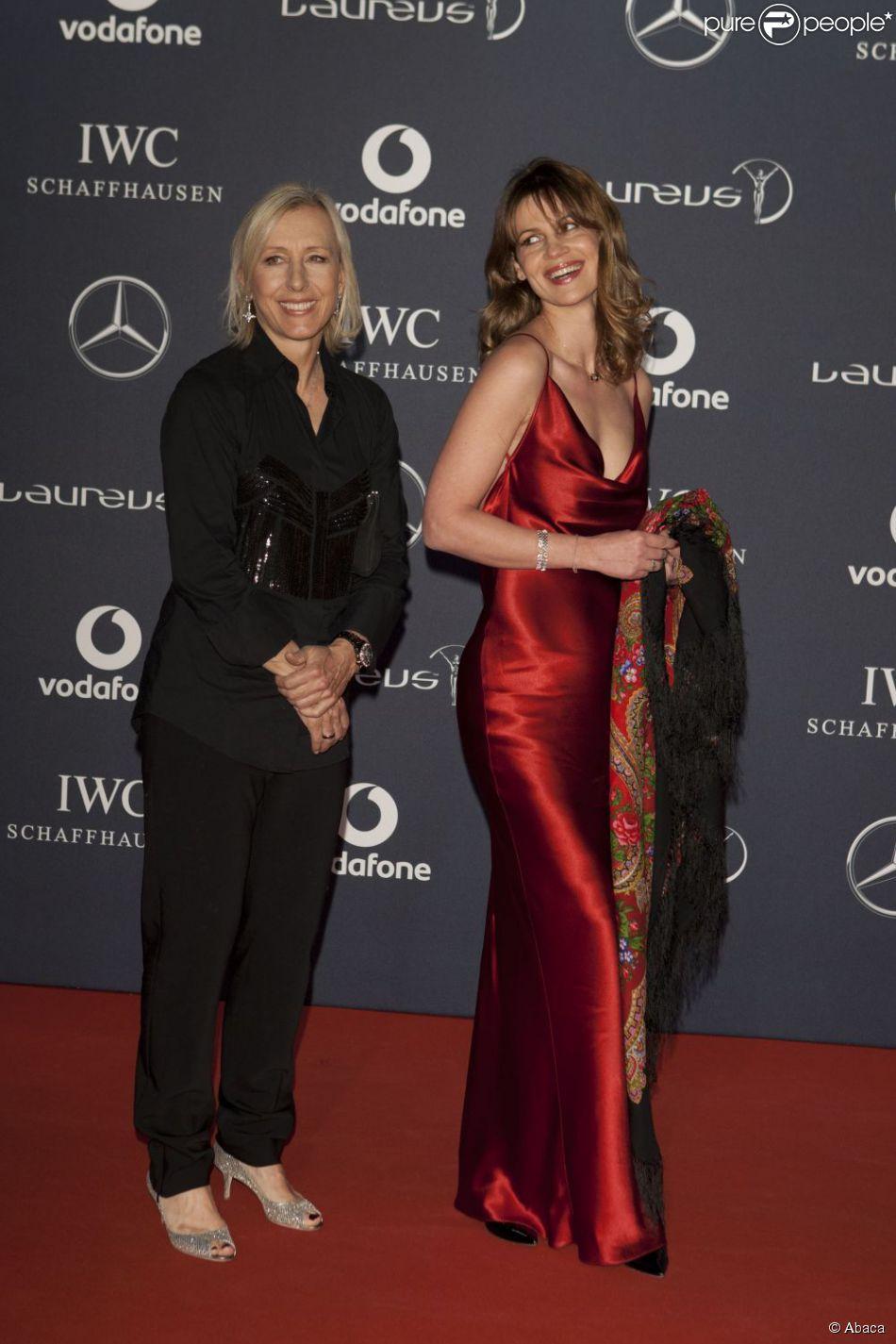 Martina Navratilova And Julia Lemigova
