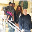 Jay Z, Beyoncé et leur fille Blue Ivy à Beverly Hills, le 11 novembre 2014.