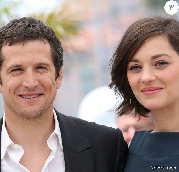 """Guillaume Canet et Marion Cotillard - Photocall du film """"Blood Ties"""" au 66e Festival du Film de Cannes le 20 mai 2013"""