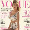 Kate Upton en couverture du magazine British Vogue. Juin 2014.