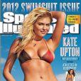 Kate Upton en couverture du numéro de 2012 du Sports Illustrated Swimsuit.