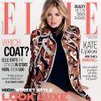 Kate Upton en couverture du numéro de septembre 2014 de l'édition britannique du magazine ELLE.