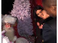 Kim Kardashian : Sa fille North, très gâtée, a rencontré le Père Noël...