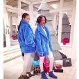 Rihanna sur Instagram avec Melissa Forde, à New York avant de rallier La Barbade, décembre 2014