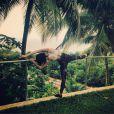 Jessie J, un Noël 2014 un peu sport sous les tropiques, sur Instagram le 26 décembre 2014