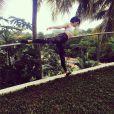 Jessie J, un Noël 2014 un peu sportif sous les tropiques, sur Instagram le 26 décembre 2014