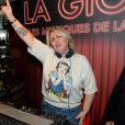 """Exclusif - Valérie Damidot - Valérie Damidot aux platines du restaurant La Gioia lors de la soirée """"Les musiques de la Gioia"""" à Paris, le 17 décembre 2014."""