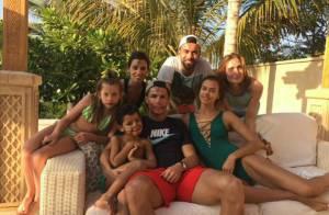 Cristiano Ronaldo : Luxe et facéties avec son fils Cristiano et sa belle Irina