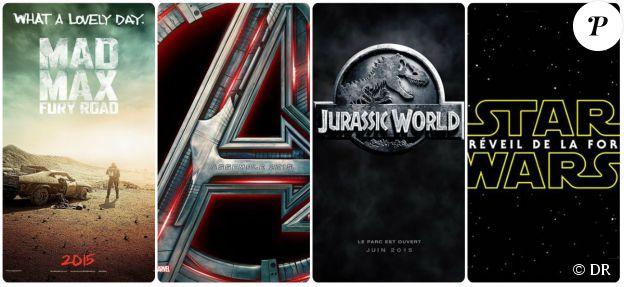 Le bal des blockbusters avec Mad Max Fury Road, Avengers : L'ère d'Ultron, Jurassic World et Star Wars VII