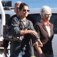 Katie Holmes est allée déjeuner avec ses parents à Malibu, le 25 novembre 2014