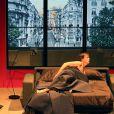François Berléand et Sébastien Thiéry dans la pièce de théâtre Deux hommes tout nus, au Théâtre de la Madeleine jusqu'au 31 janvier 2015