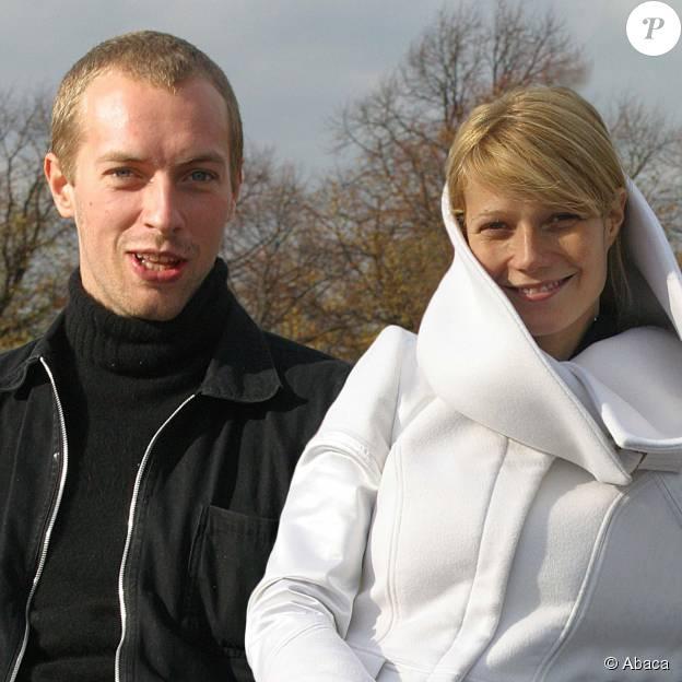 Gwyneth Paltrow et Chris Martin à Londres, le 29 octobre 2003.