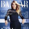 Gwyneth Paltrow en couverture du numéro de Février 2015 de Harper's Bazaar UK.