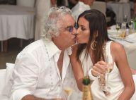 Flavio Briatore : Amoureux avec sa pulpeuse Elisabetta pour une soirée mouillée
