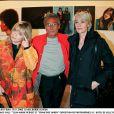 """""""FRANCE GALL"""" """"JEAN MARIE PERIER"""" ET """"FRANCOISE HARDY"""" EXPOSITION DE PHOTOGRPHIES A L' HOTEL DE VILLE DE PARIS """"PLAN SERRE""""19/11/2002 -"""