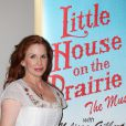 Melissa Gilbert lors de la tournée de la comédie musciale de La petite maison dans la prairie, à New York le 2 septembre 2009