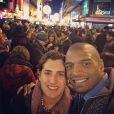 Michael Sam et Vito Cammisano - photo publiée sur le compte Instagram de Michael Sam le 1er janvier 2015