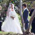 Exclusif - Jenson Button et Jessica Michibata se marient dans la stricte intimité à Maui à Hawaï, le 29 décembre 2014 entourés de leurs familles et de leurs amis.