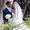 Exclusif - Le coureur automobile anglais Jenson Button et Jessica Michibata se marient dans la stricte intimité à Maui à Hawaï, le 29 décembre 2014 entourés de leurs familles et de leurs amis.