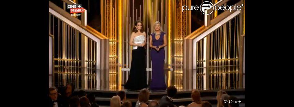 La cérémonie des Golden Globes 2015 avec les présentatrices Tina Fey et Amy Poehler
